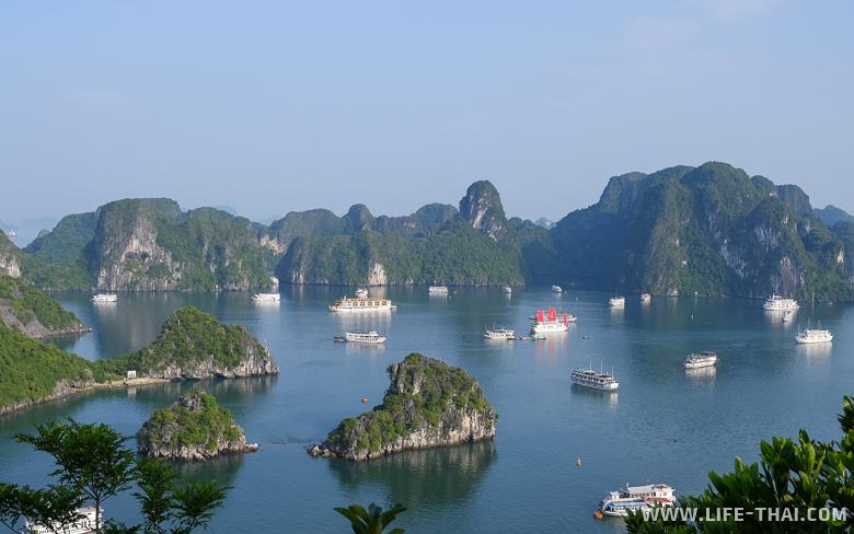 Что посмотреть в Северном Вьетнаме - бухта Халонг