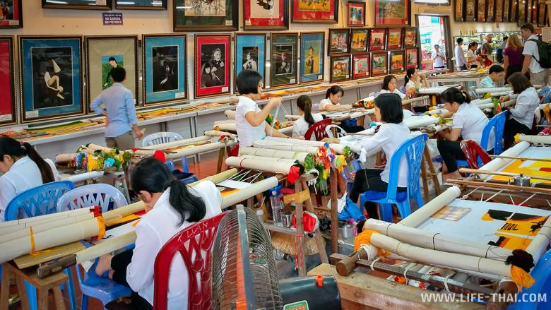 Фабрика по вышивке - работа для инвалидов во Вьетнаме