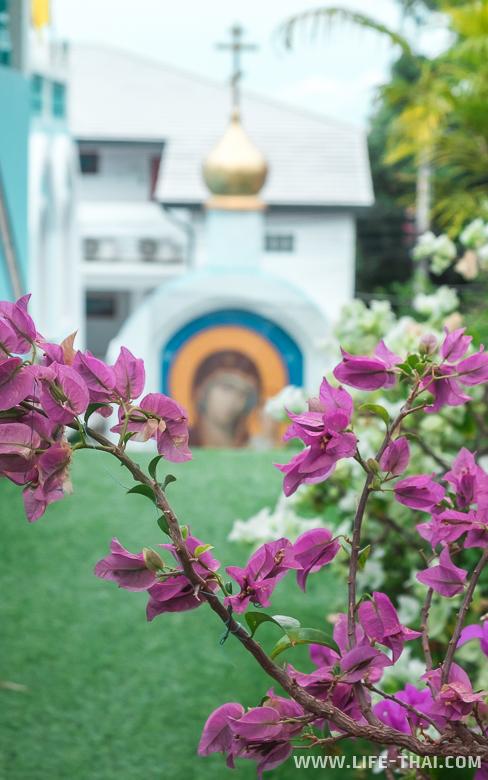 Православная церковь на острове Самуи, Таиланд