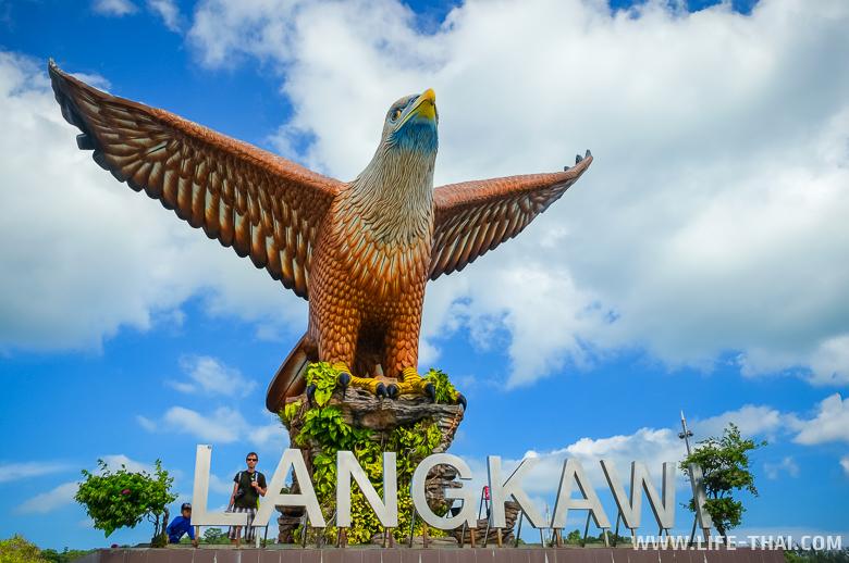 Фото Лангкави: площадь Орла в Куахе
