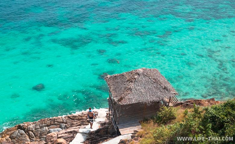 Изумрудная вода на острове Панган