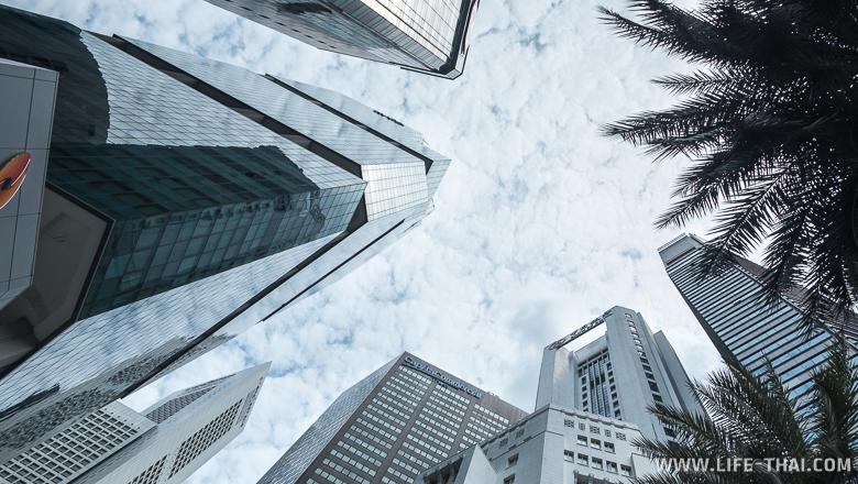 Высотки в Сингапуре