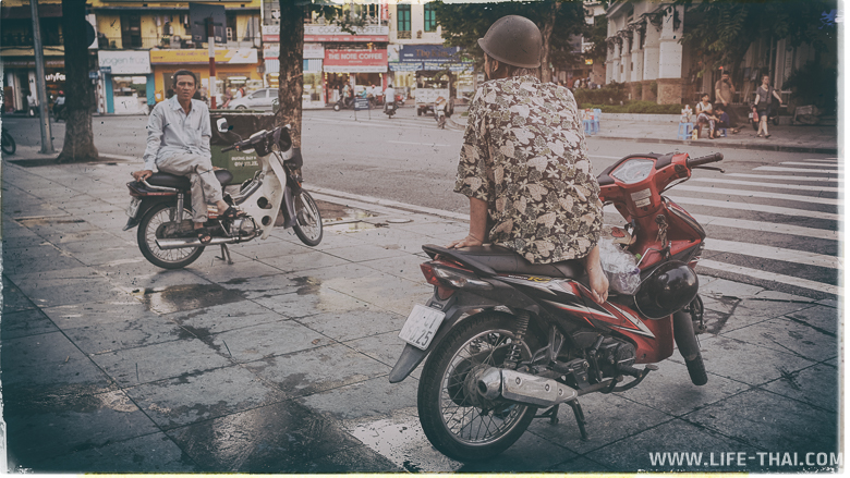 Вьетнамцы живут на мотобайках
