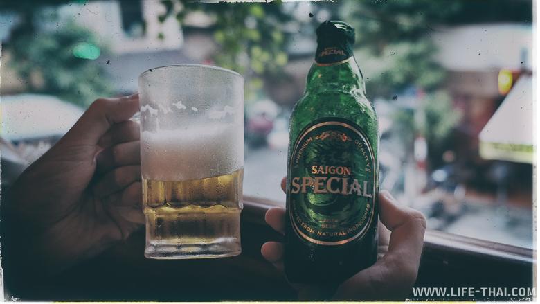 Пиво Сайгон - всегда свежее, всегда вкусное