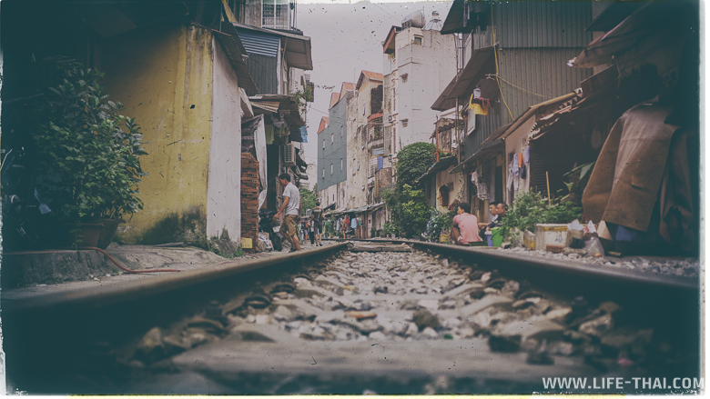 Трущобы в Ханое - своеобразная достопримечательность