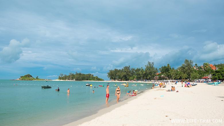 Пляж Чонгмон на Самуи - лучший пляж для отдыха