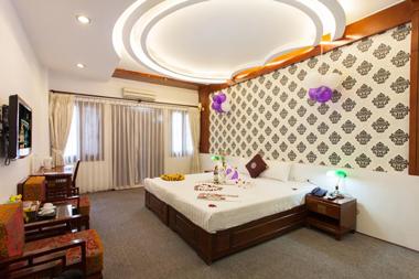 Двуместный номер в отеле в центре Ханоя