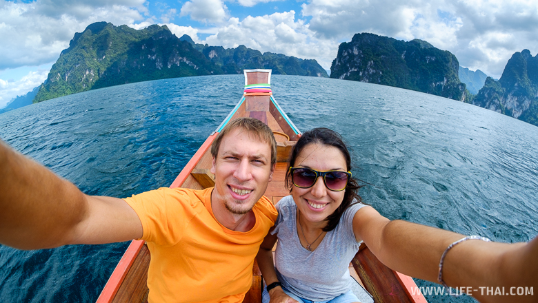 Первое путешествие 2017 года - это поездка на озеро Чео Лан с Пхукета