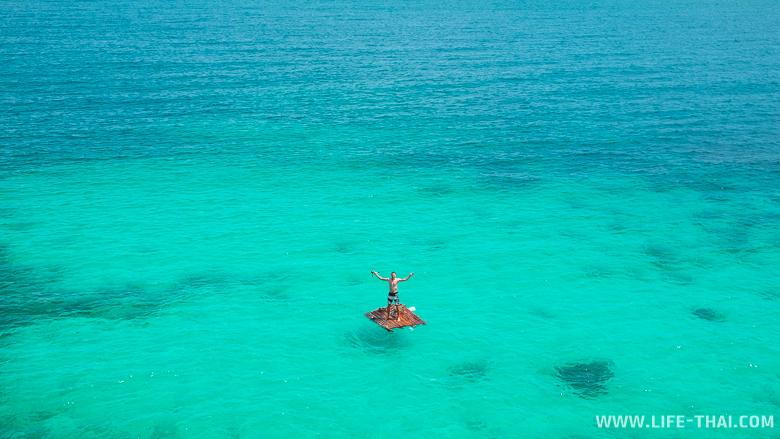 Остров Панган и лазурный Сиамский залив