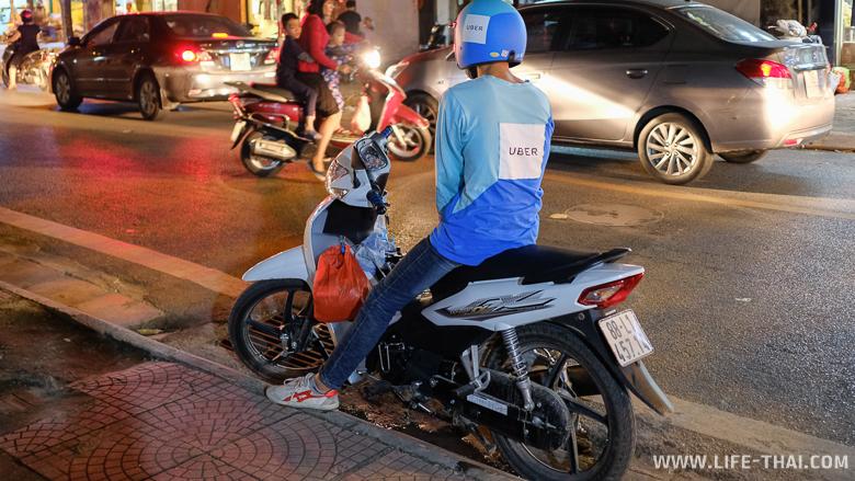 Такси в Ханое: Убер и Граб-такси