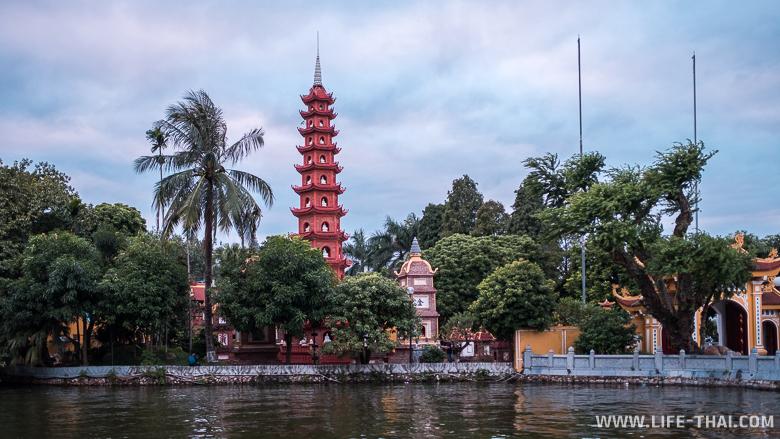 Районы Ханоя. Западное озеро