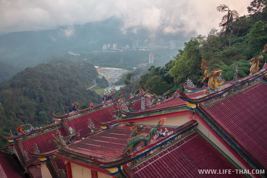 Китайский храм в Гентинг Хайлендс