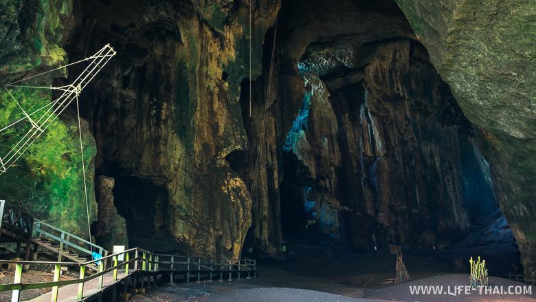 Пещера Гоматонг изнутри