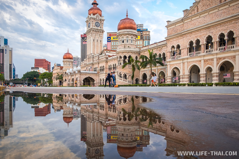 Площадь Независимости Малайзии - ещё одно интересное место в Куала-Лумпуре