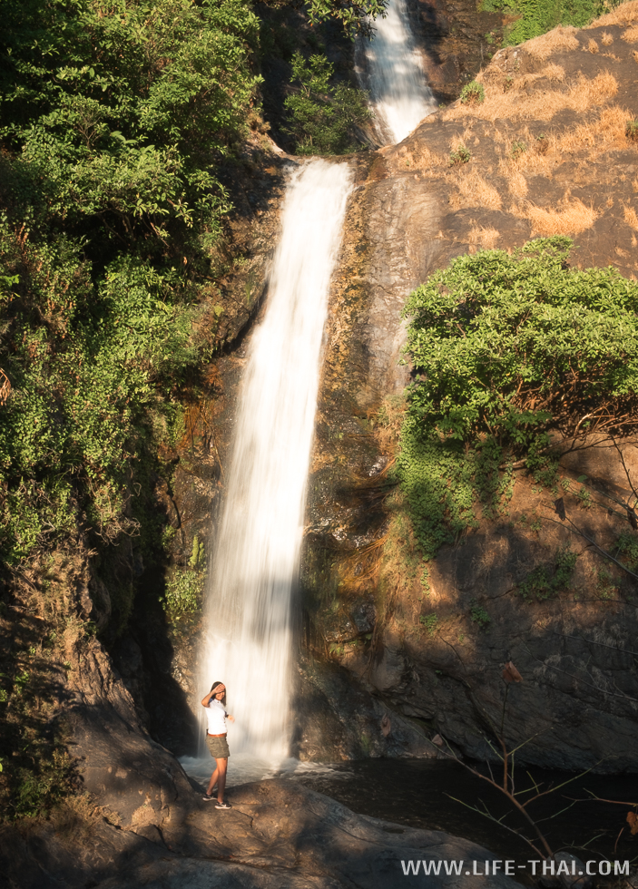 Ещё один водопад в нац. парке Дои Интханон