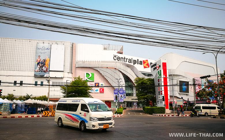 Торговый центр Central Plaza в Удон Тхани