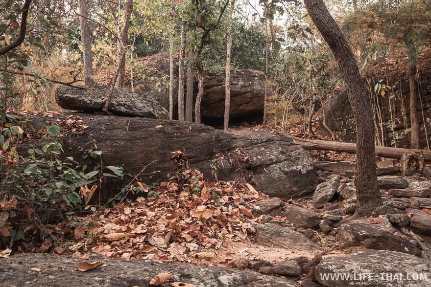 Ландшафт в парке разнообразный: то плоская равнина, то каменные ущелья и холмы