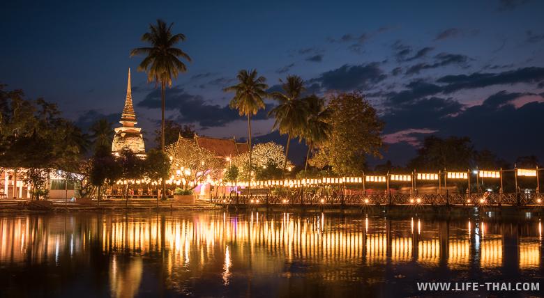 Новогоднее путешествие: съездили в Сукхотай, колыбель тайской цивилизации