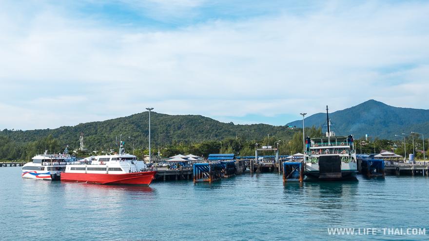 Порт Тонгсала - ворота на остров Панган