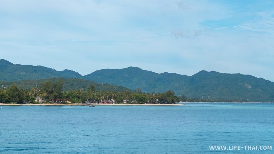 Следующий пляж за Тонгсалой - Бан Таи