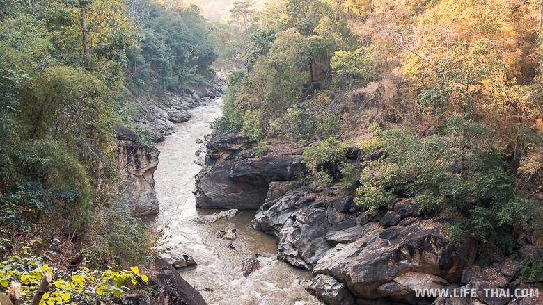 Каньон реки Мае Чаем, достопримечательности северного Таиланда