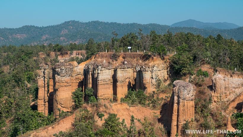 Каньон Pha Singh Leaw, вид со обзорной площадки