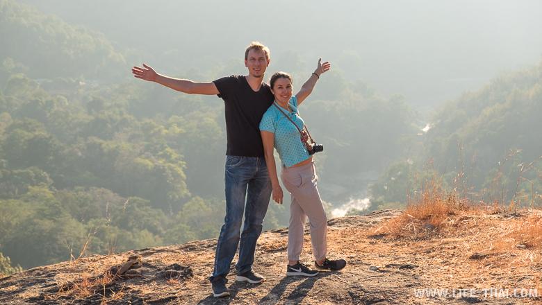 Мы в парке Об Луанг