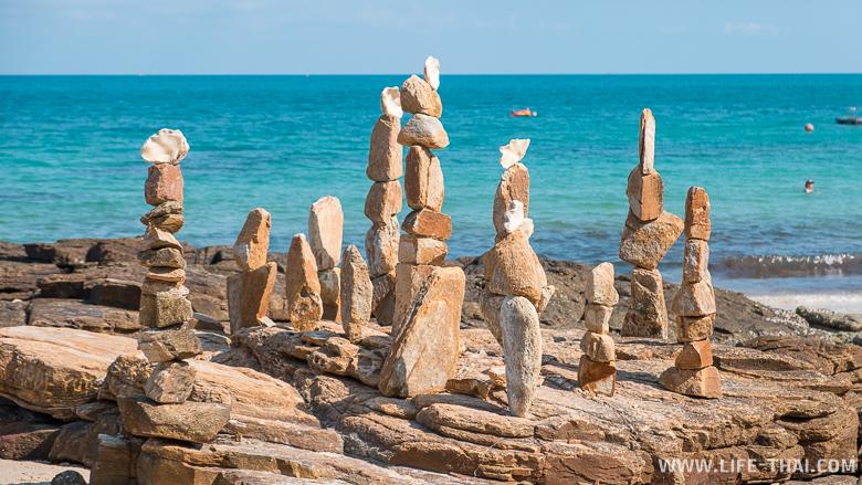 Достопримечательность острова Самет: балансирующие камни