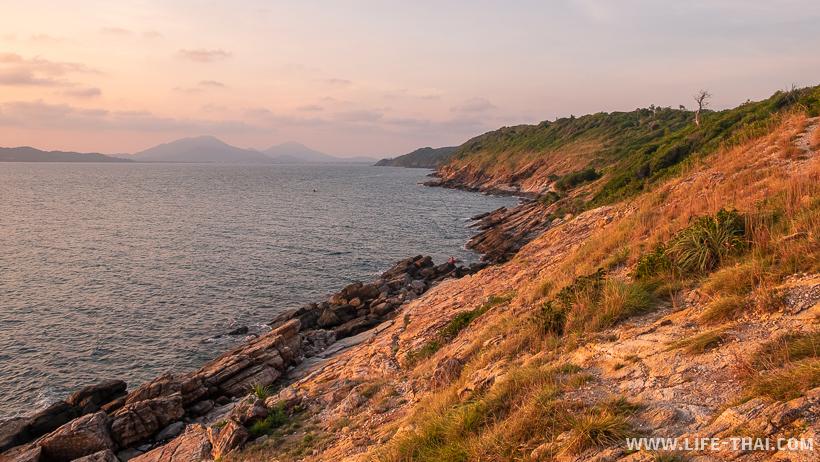Интересные места на острове Самет. Западное побережье ко Самета