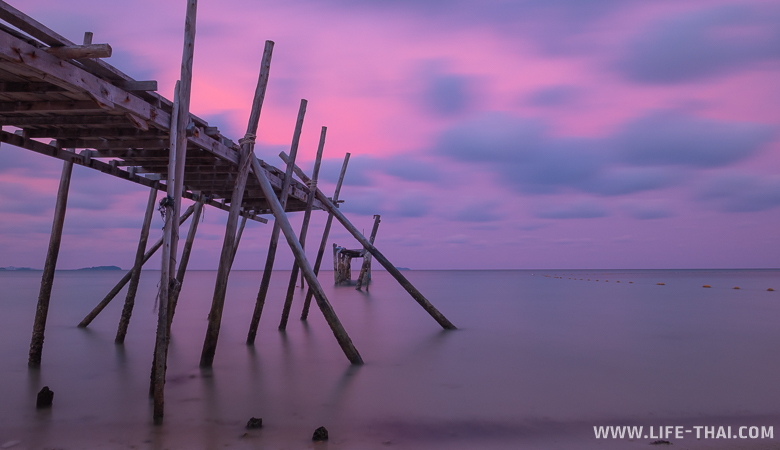 Закаты на острове Самед. Достопримечательности ко Самета