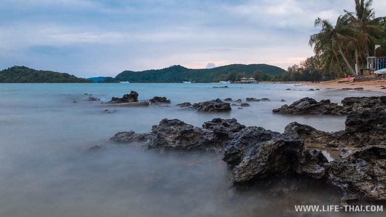 Закат на острове ко Мак рядом с ко Чангом