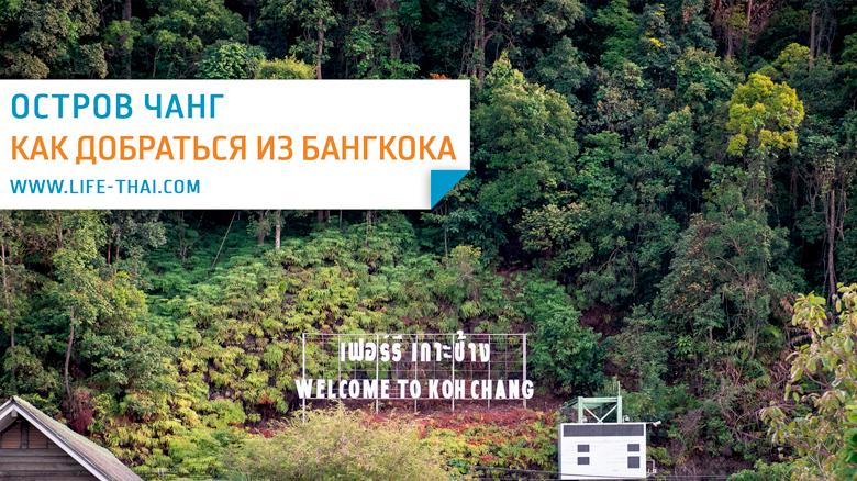 Как добраться на ко Чанг из Бангкока: автобус, самолёт, трансфер, паром