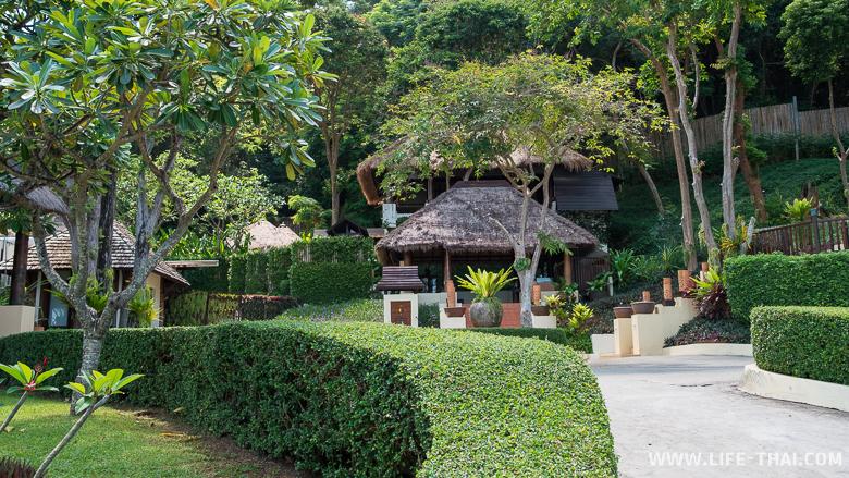 Территория отеля Le Vimarn Cottages & Spa на ко Самете