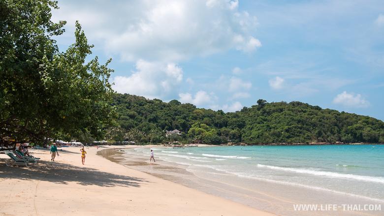 Отели на ко Самете - Пляж отеля Ao Prao Resort