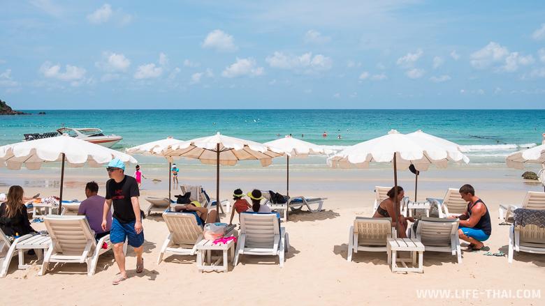 Отели ко Самета - Пляж отеля Lima Coco Resort