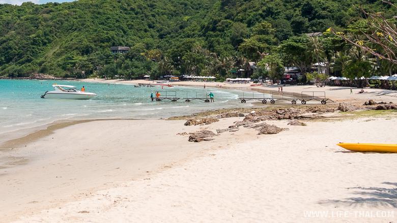 Как выглядит лучший пляж Самета