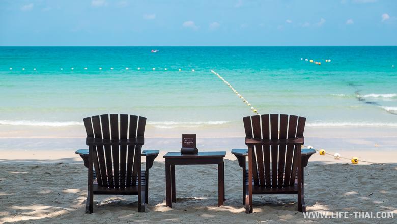 Ао Прао - лучший пляж острова Самед - находится на западной стороне острова