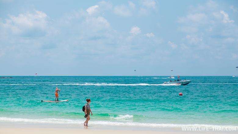 Пляжи на острове Самет практически идеальные