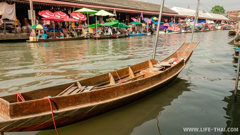 Фото: плавучий рынок Ампхава в Бангкоке