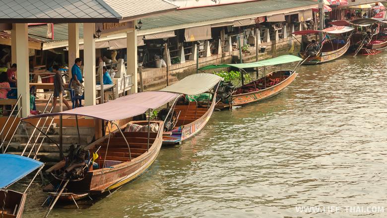 Экскурсия по каналам на рынке в Ампхаве