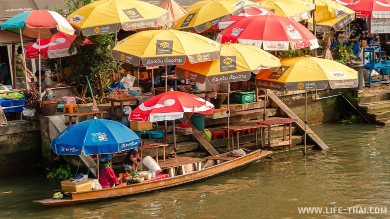 Плавучий рынок Ампхава. Достопримечательности