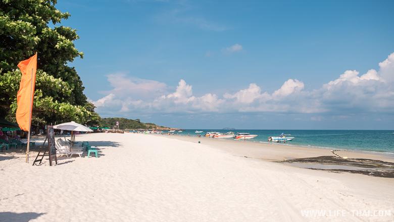 Главный пляж ко Самета на фото