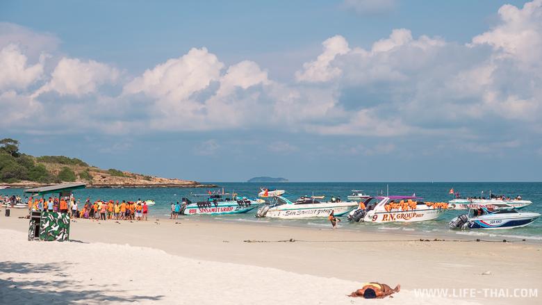 Обзор пляжей ко Самета - пляж Сай Кео