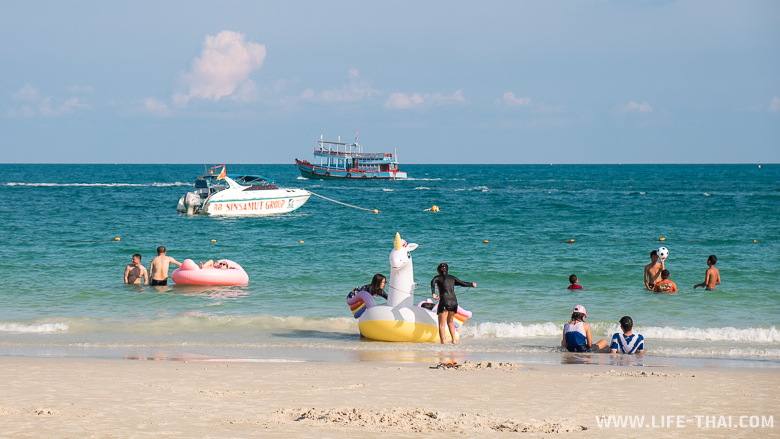 Пляж ко Самета для детей
