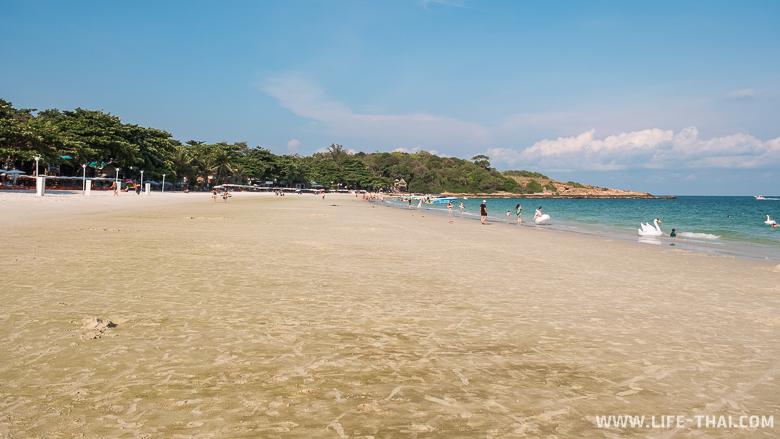 Отливы на пляжах ко Самета