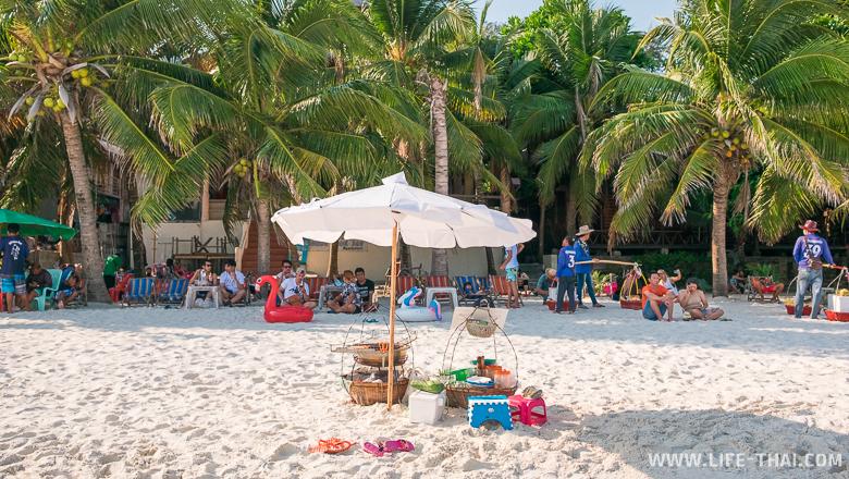 Как выглядит пляж Сай Кео. Инфраструктура и развлечения на главном пляже ко Самета