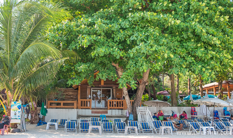 Лежаки в аренду на пляже ко Самета