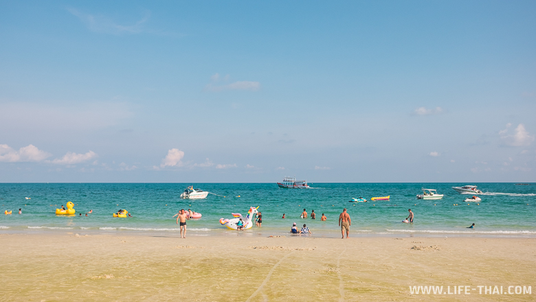 Пляжи ко Самета в отлив
