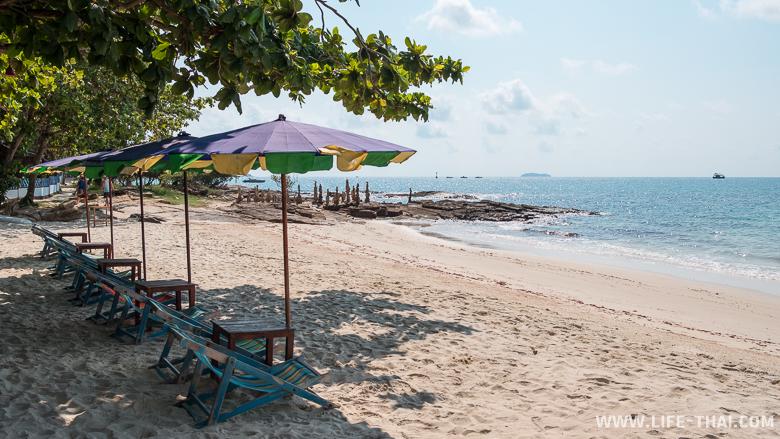 Отдых на пляже Ао Тубтим на ко Самете