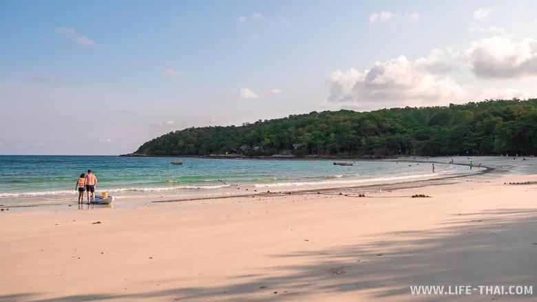 Обзор всех пляжей ко Самета. Пляж ао Вай